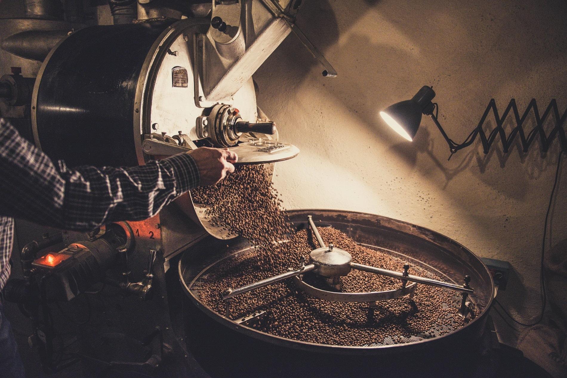 прожарка кофе