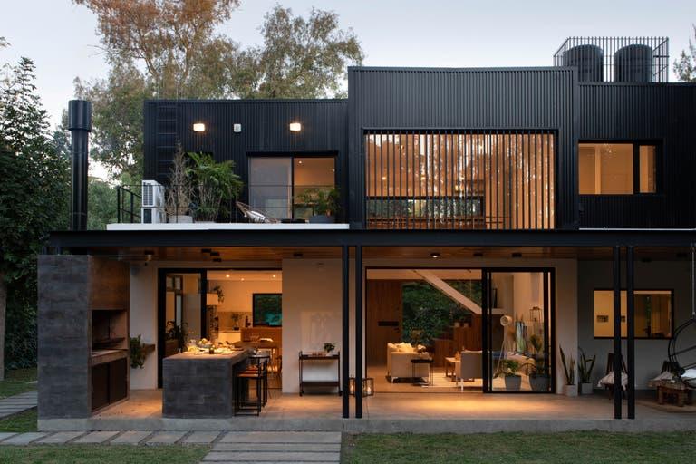 будинок в стилі лофт